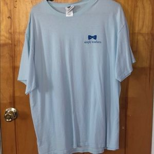Blue Simply Southern T-shirt